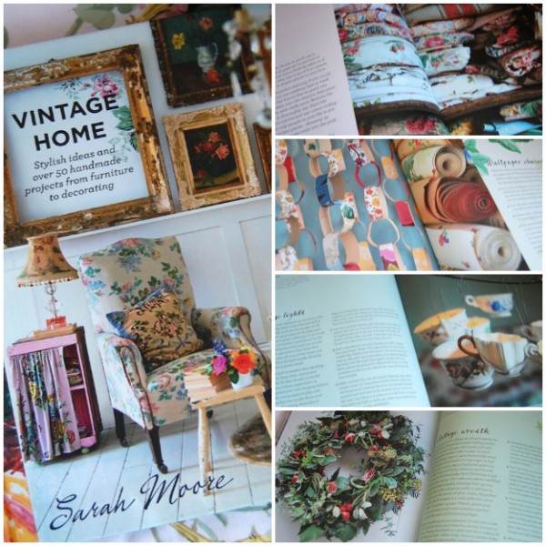 The book is filled with drool worthy, beautiful styling & lovely ideas & projects.