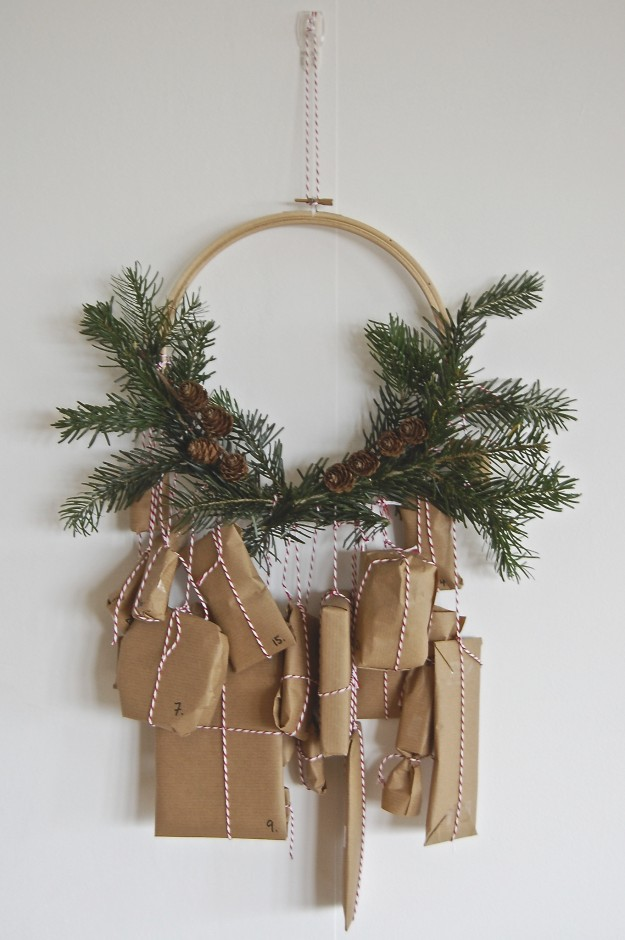 DIY advent calender | advent wreath ~ lapinblu.com