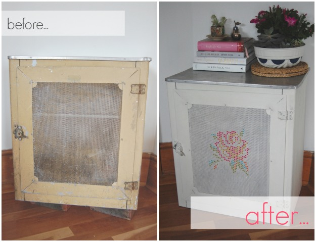 cupboard before & after