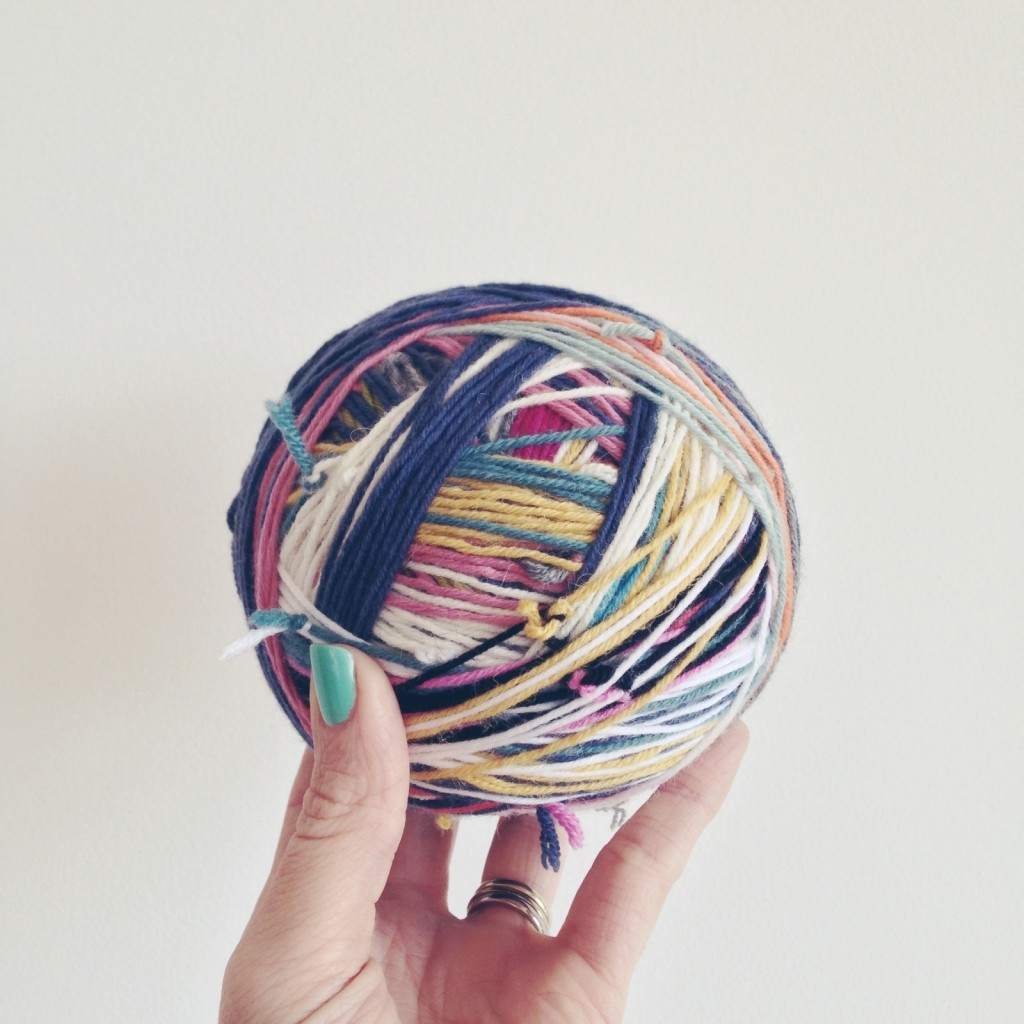 scrap-wool-yarn-ball