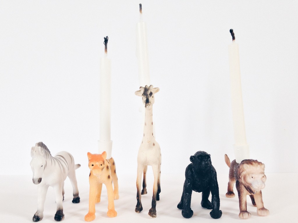 DIY-make-kids-animal-party-theme-candles DIY animal candles