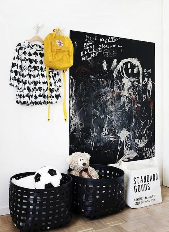 chalkboard-paint-monochrome-kids-rooms