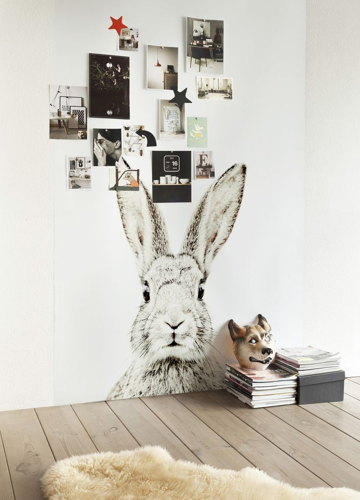 rabbit-magnetic-wallpaper-kids-interiors-rooms-monochrome