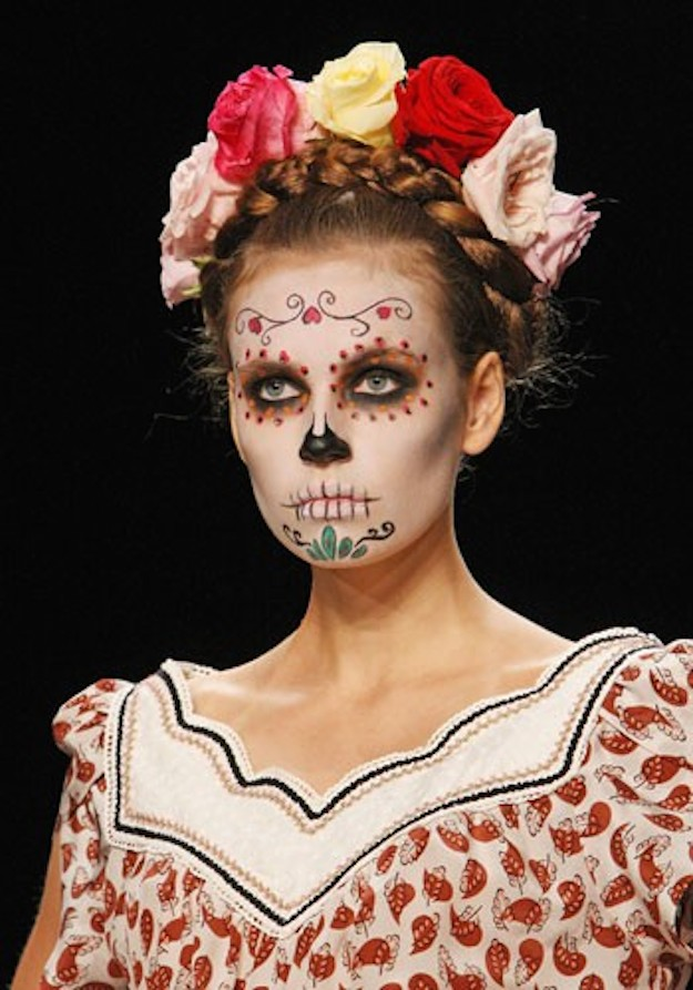 catrina day of the dead catwalk inspiration
