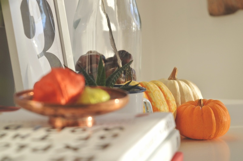 collections autumn vignettes home styling