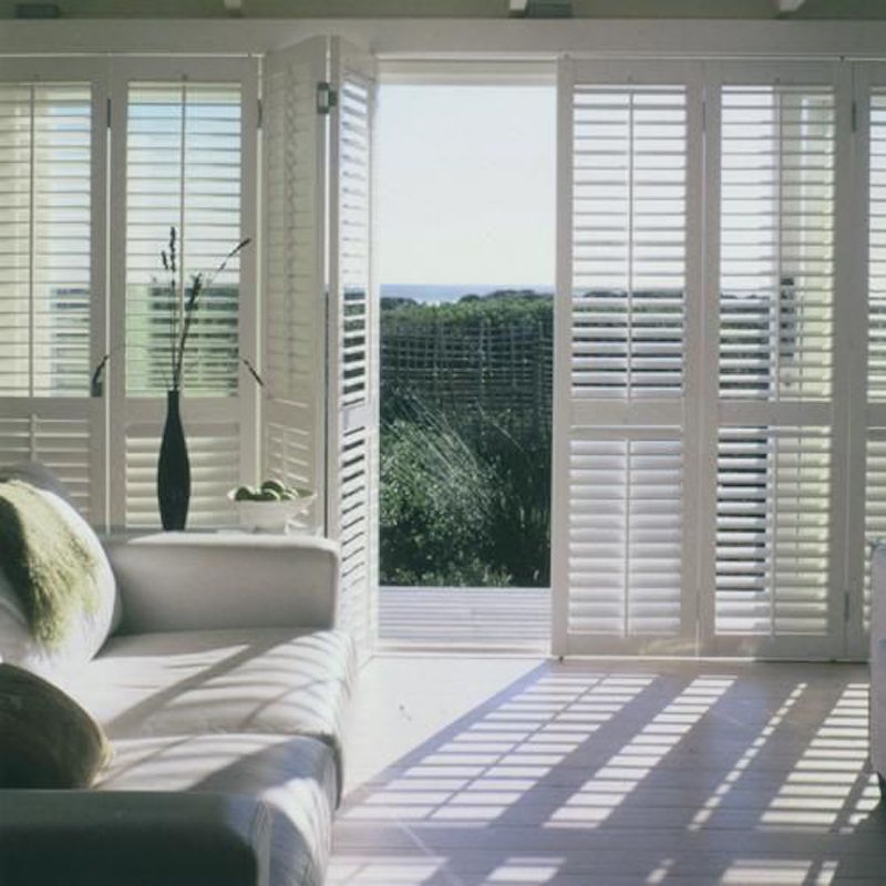 Our house window inspirations lapinblu for Ceiling to floor blinds