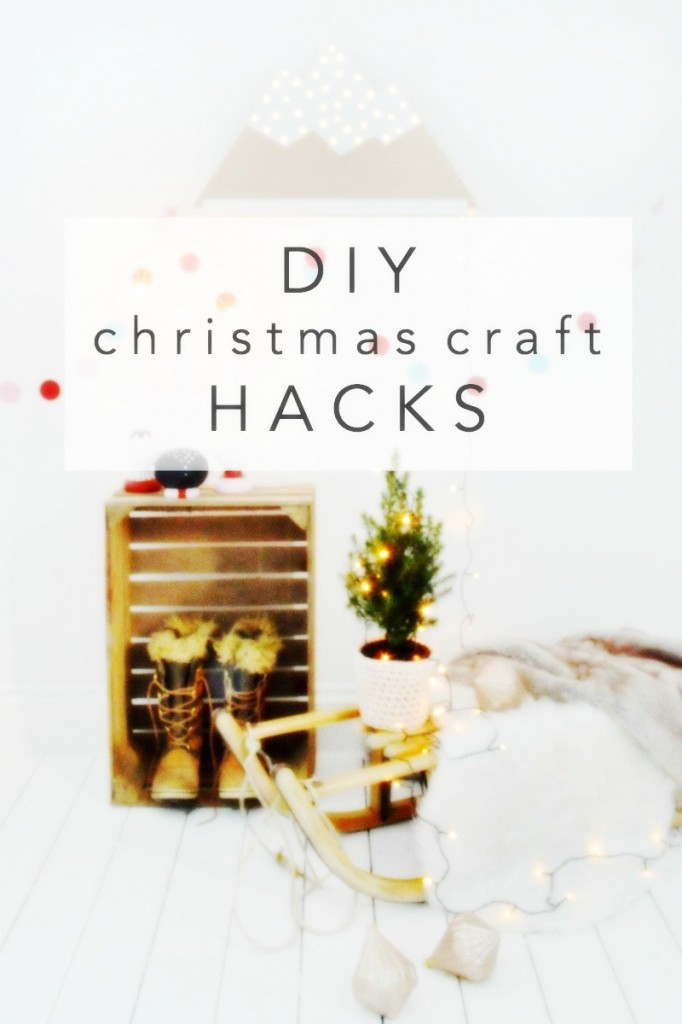 easy DIY christmas craft hacks