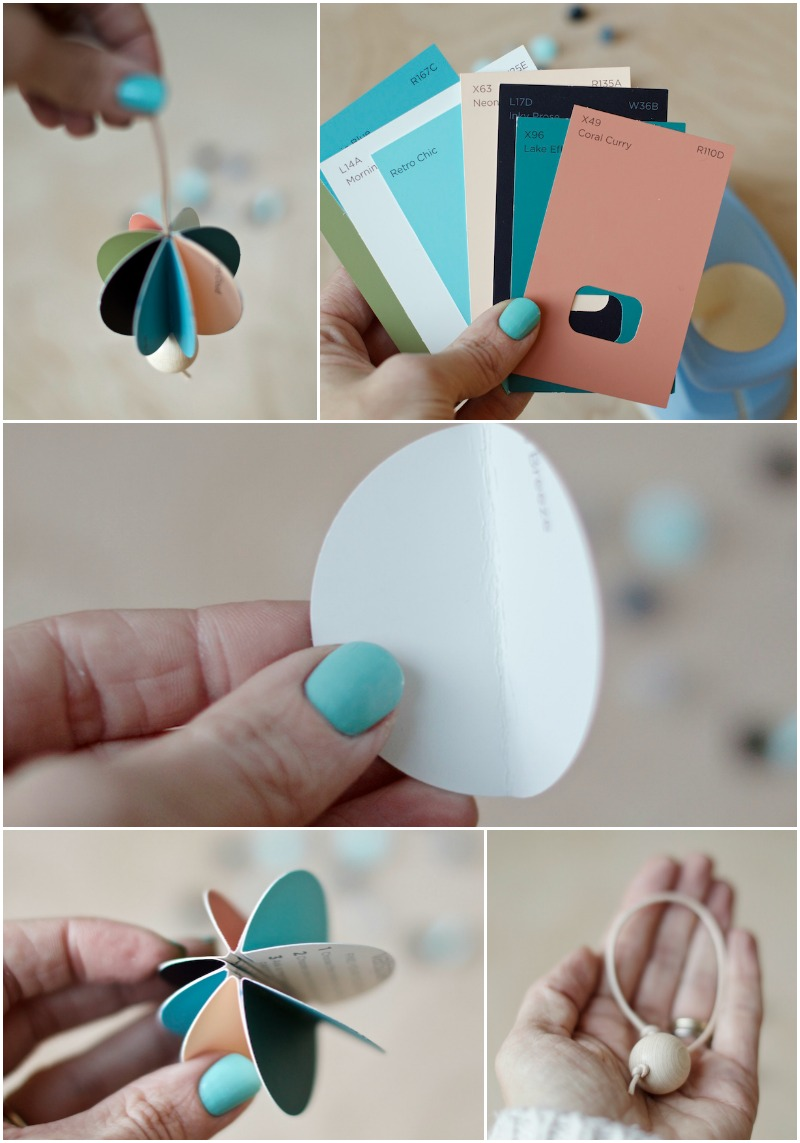 diy colourful paper ball decoration