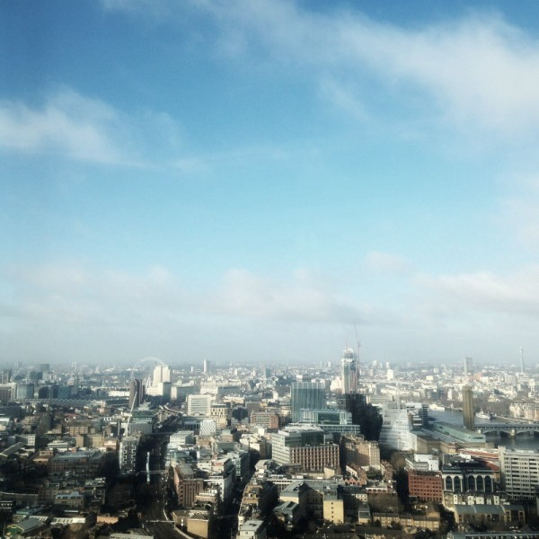 34th floor view at the shard with rooms made for you