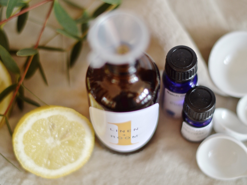 DIY essential oil room fragrance