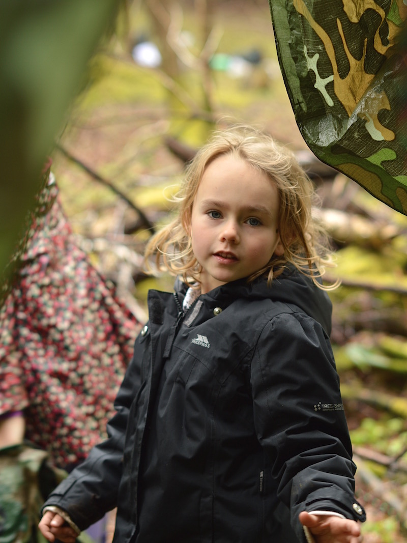 forest school with fore adventure