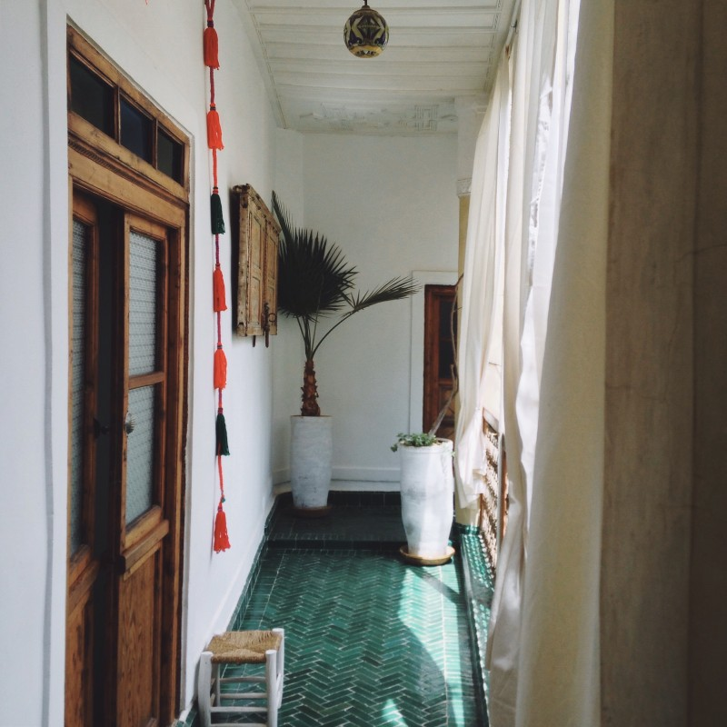 hotel chambres d'amis marrakech riad with calm moroccan style
