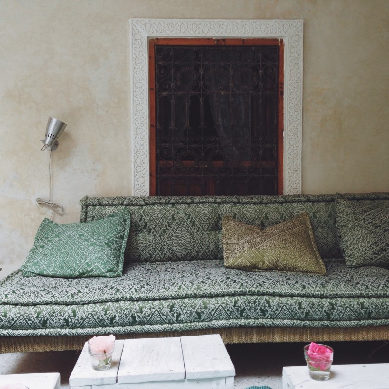 a marrakech riad with calm spaces & inspiring touches of moroccan style