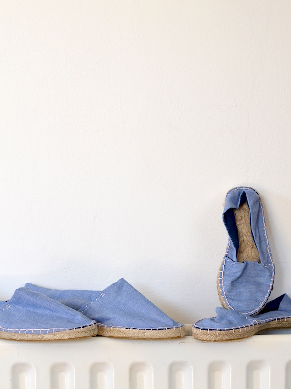 Make your own espadrilles-the everyday spruce-set for summer