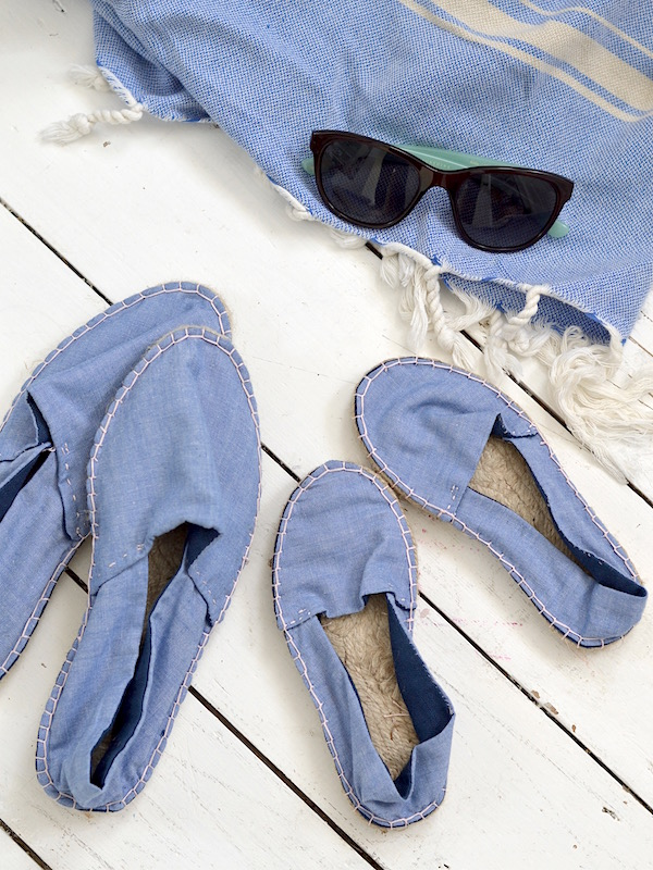 get set for summer, make your own espadrilles with the makery #theeverydayspruce