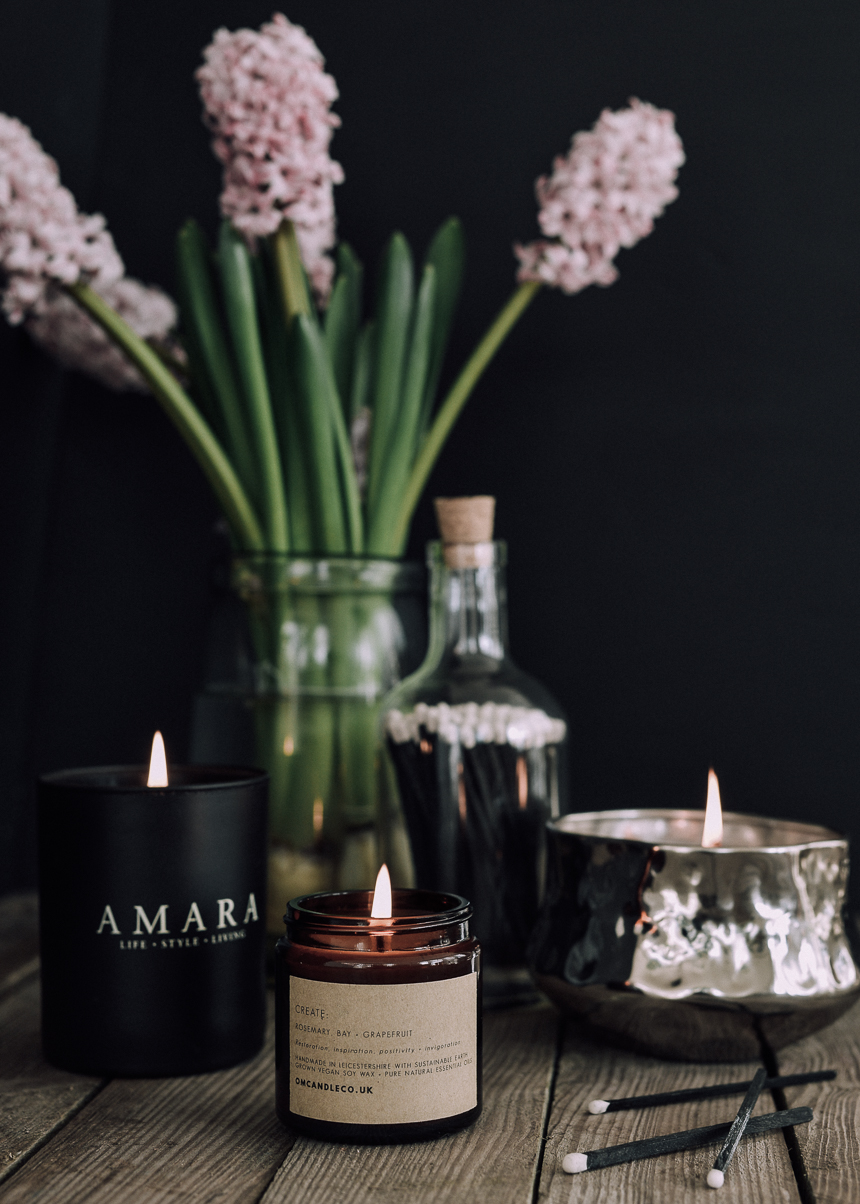 scented-candles-hygge